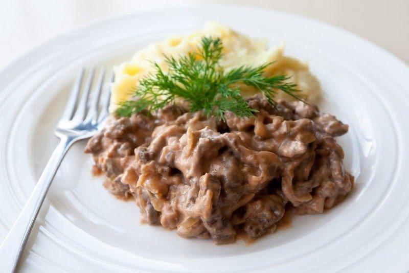 традиции грузинского бифстроганы из свинины рецепт с фото рай