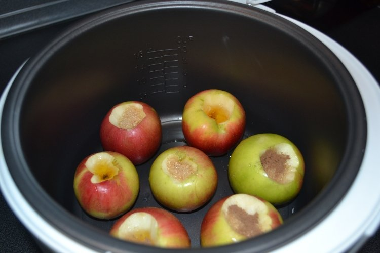 яблоки запеченные в мультиварке рецепты с фото условиям