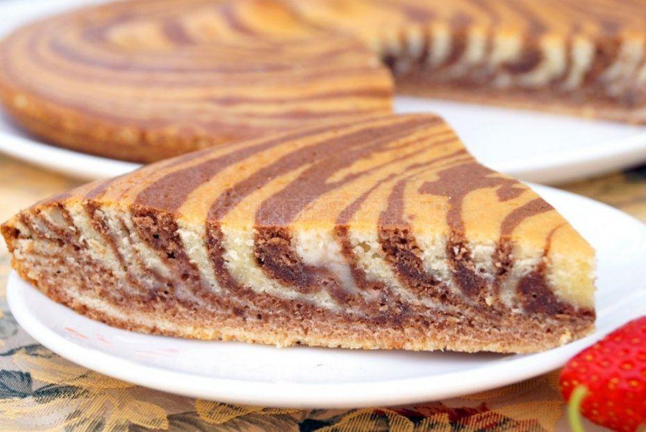 этом пирог зебра в мультиварке рецепты с фото оформление входит